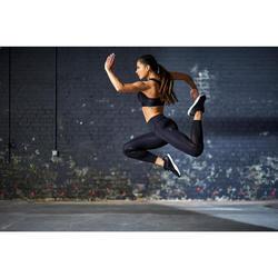 Legging fitness cardio training femme noir 900