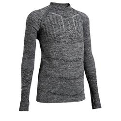 Kids' Keepdry 500 Base Layer - Heathered Grey