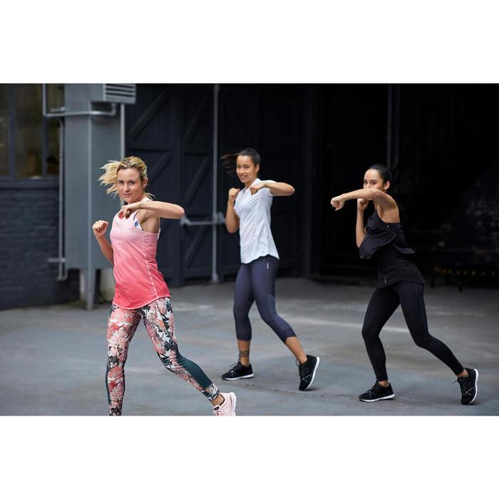 Zapatillas fitness cardio-training mujer 500 negro