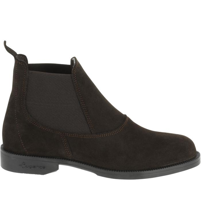 Boots équitation adulte CLASSIC ONE 100 marron