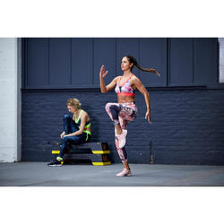 Sport-BH FBRA 500 Fitness Cardio Damen Blumenprint