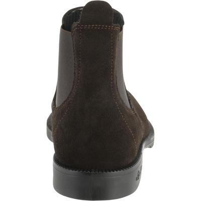 حذاء كلاسيكي 100 Jodhpur للكبار لركوب الخيل - بني