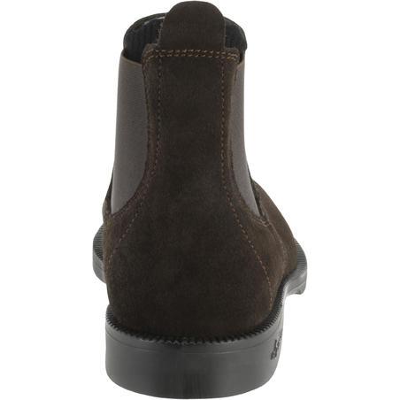 Bottes équitation adulte CLASSIC cuir marron