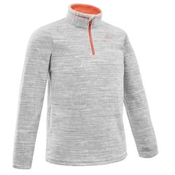 MH120 Kids' Hiking Fleece - Grey
