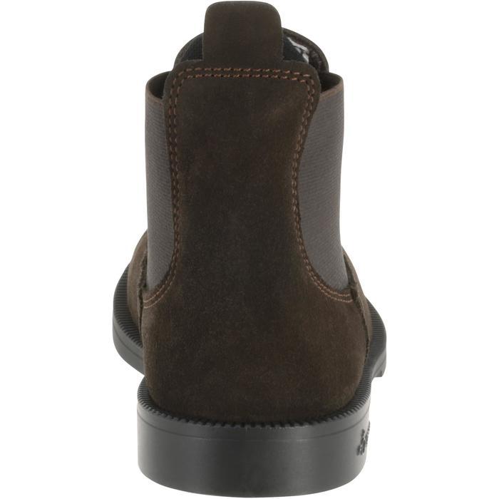 Botines de piel equitación júnior CLASSIC marrón