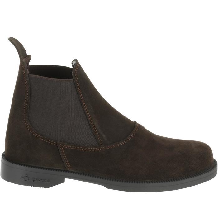 Boots équitation enfant CLASSIC ONE 100 marron - 167315