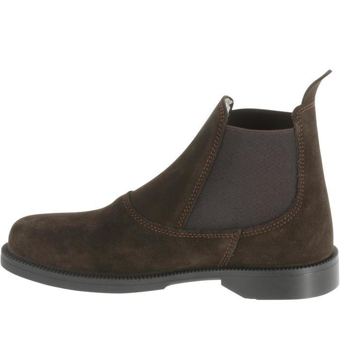 Boots équitation enfant CLASSIC ONE 100 marron - 167316