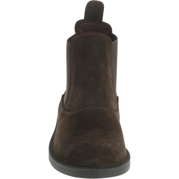 Boots équitation enfant CLASSIC ONE 100 marron - 167317