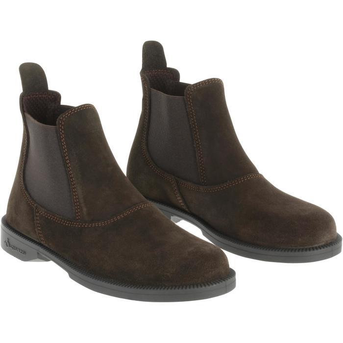 Boots équitation enfant CLASSIC ONE 100 marron - 167320