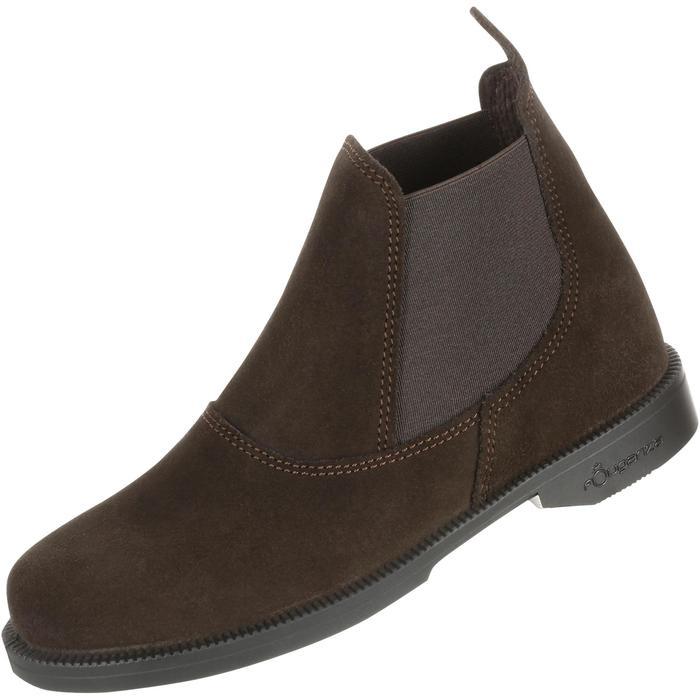 Boots équitation enfant CLASSIC ONE 100 marron - 167321