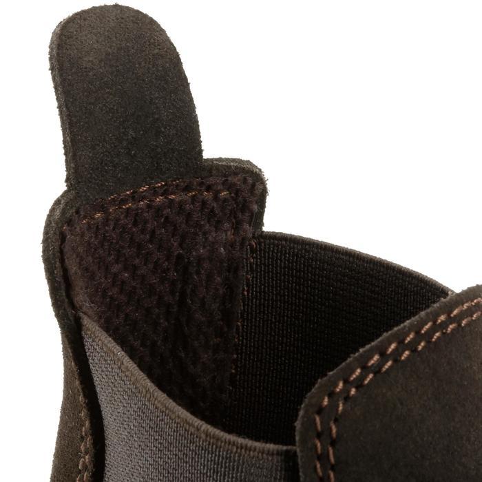 Boots équitation enfant CLASSIC ONE 100 marron - 167324