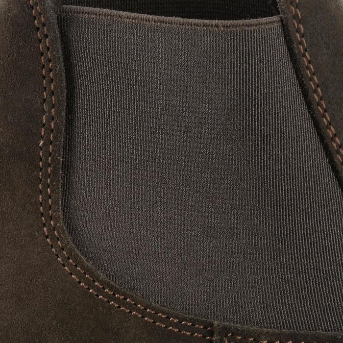 Boots équitation enfant CLASSIC ONE 100 marron - 167328