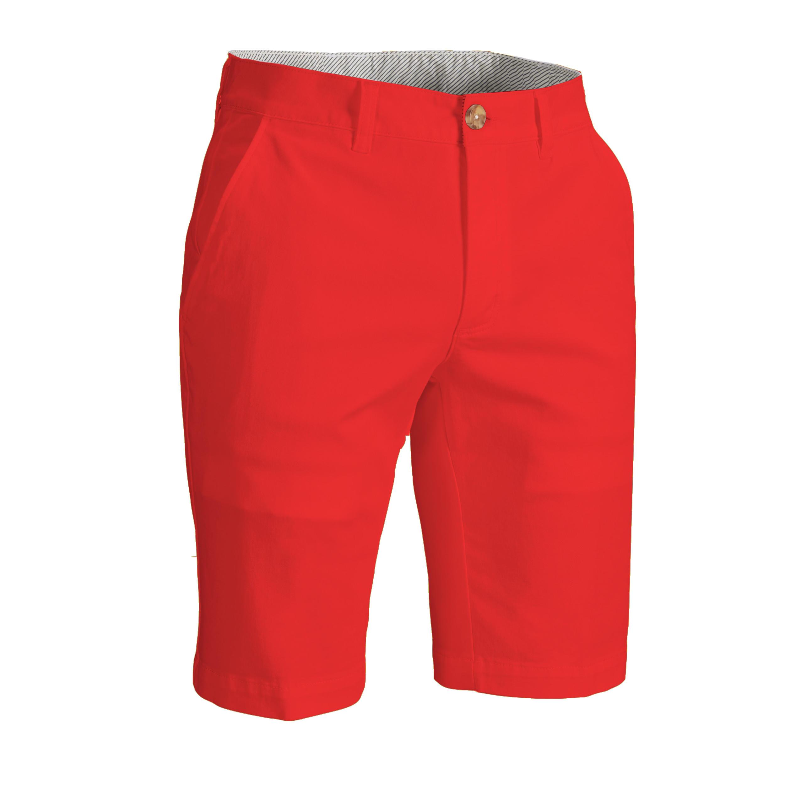 Bermude Golf Roșu Bărbați imagine