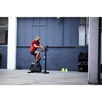 Hometrainer Bike 500, draadloos, vliegwiel van 6kg