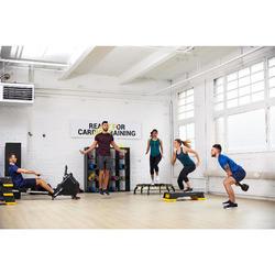 Zapatillas gimnasio Cardio Fitness Domyos FSH 100 hombre negro