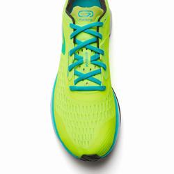 Hardloopschoenen voor heren Kiprun KD Light groen geel