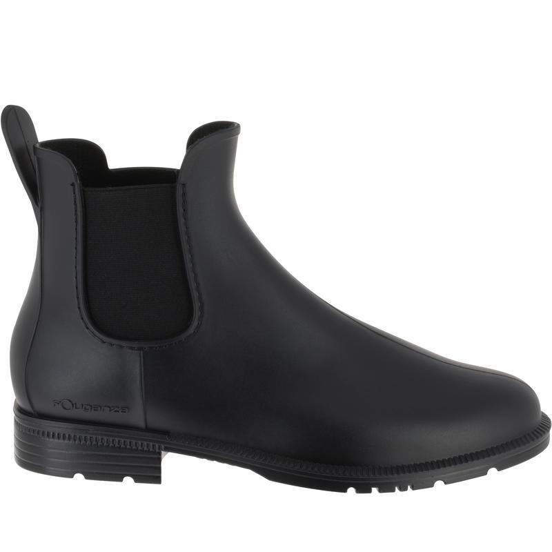 รองเท้าบูตเด็กและผู้ใหญ่สำหรับขี่ม้ารุ่น Schooling (สีดำ)
