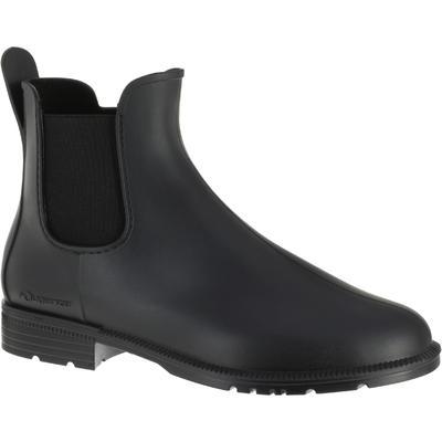 حذاء Jodhpur 100 للأطفال والكبار لركون الخيل – لون أسود