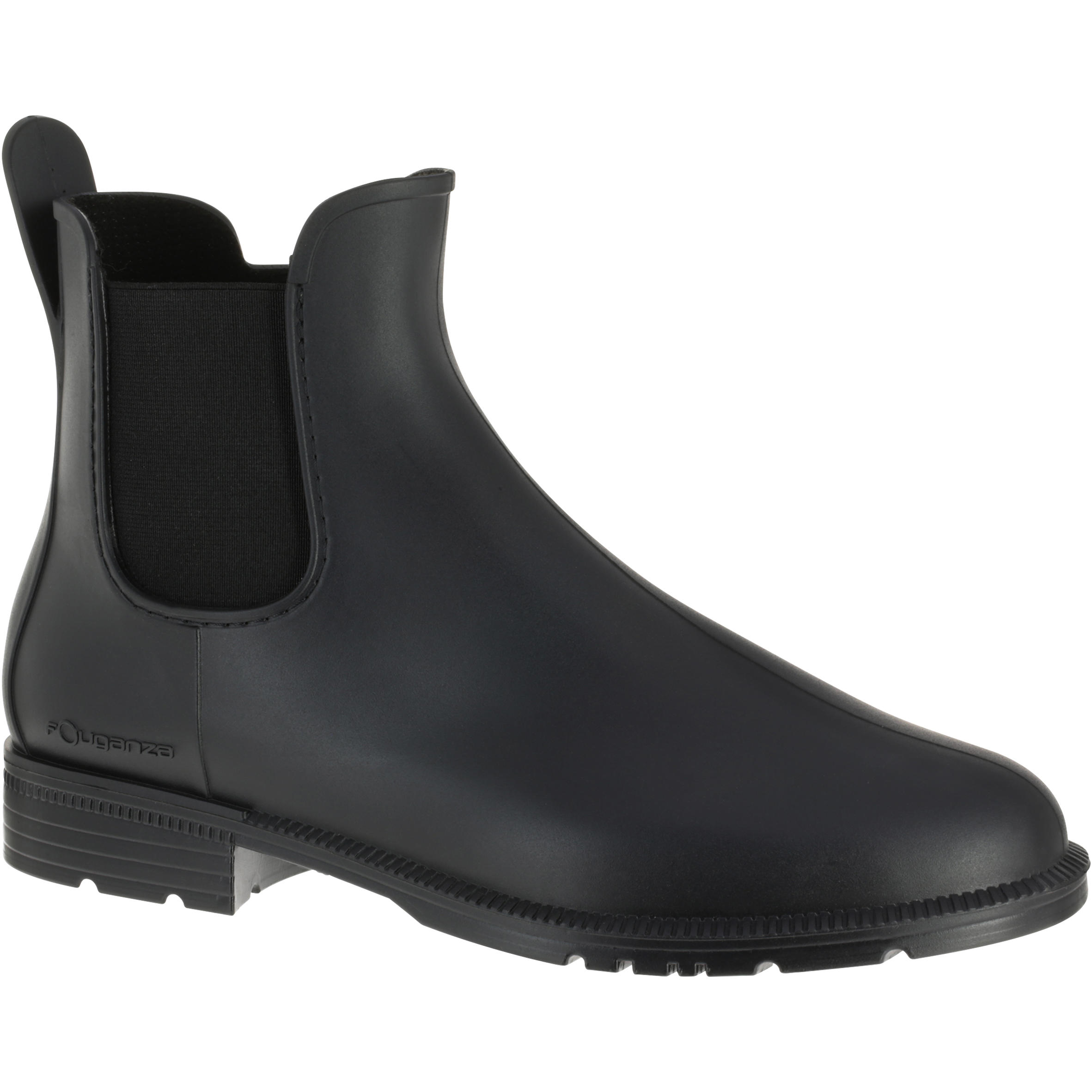Schooling 100 Children's and Adult's Horseback Riding Jodhpur Boots - Black