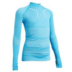兒童款底層衣Keepdry 500-天空藍