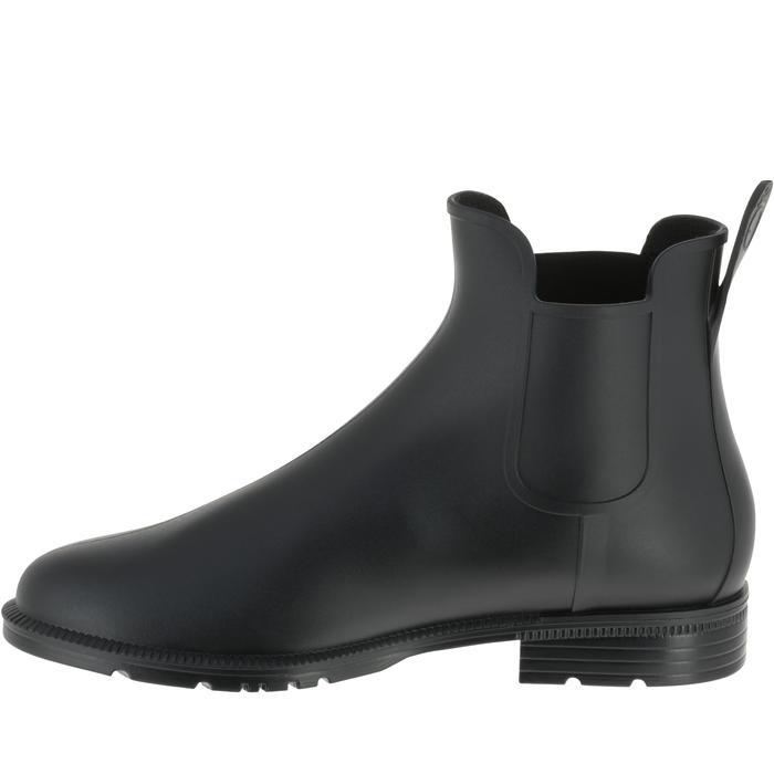 Boots équitation enfant et adulte SCHOOLING 100 noir - 167368