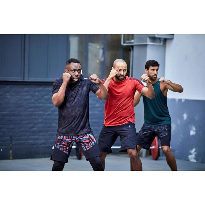 Débardeur cardio fitness training FTA 500 homme vert khaki