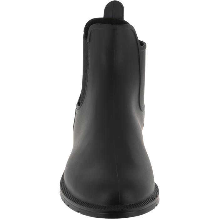 Boots équitation enfant et adulte SCHOOLING 100 noir - 167369