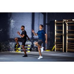 Schoenen fitness cardiotraining heren 920 mid zwart