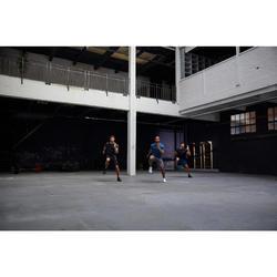 Sporthose kurz FST 900 Fitness Cardio Herren blau