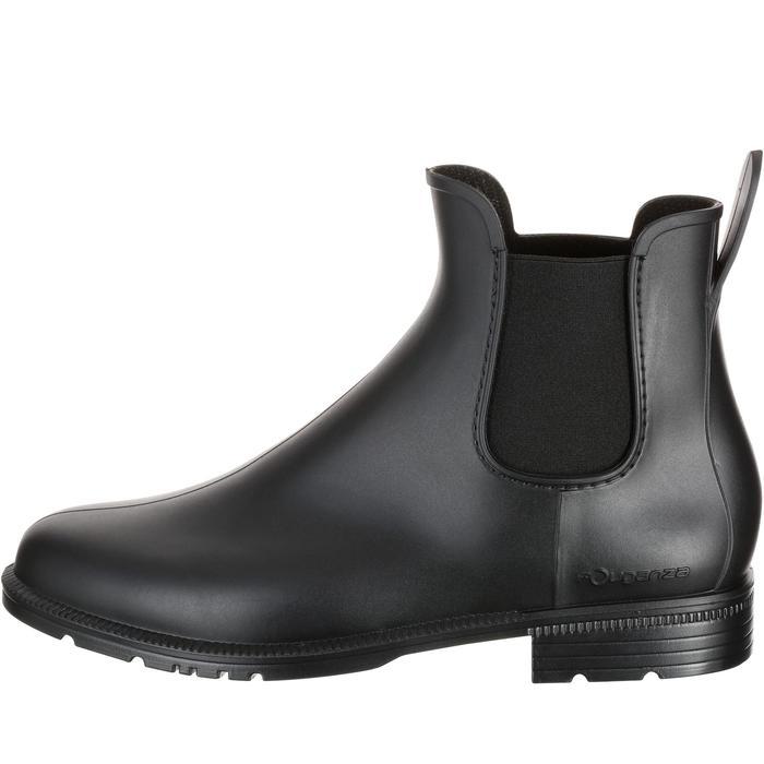 Boots équitation enfant et adulte SCHOOLING 100 noir - 167373