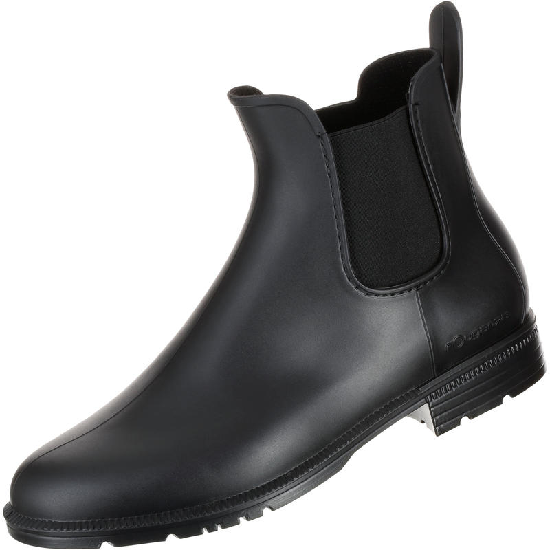 Adult And Junior Horse Riding Schooling Jodhpur Boots - Black