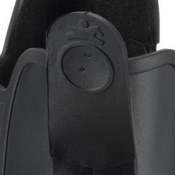 成人/兒童款馬術短馬靴Schooling-黑色