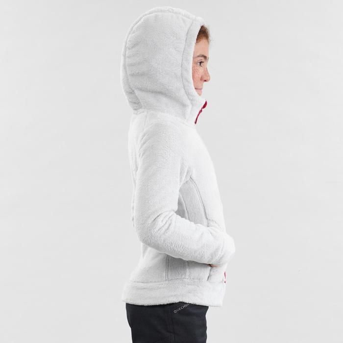 Fleece vest voor wandelen kinderen SH100 Warm grijs