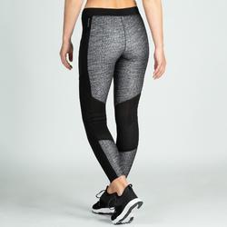 Leggings FTI 120 Fitness Cardio Damen graumeliert