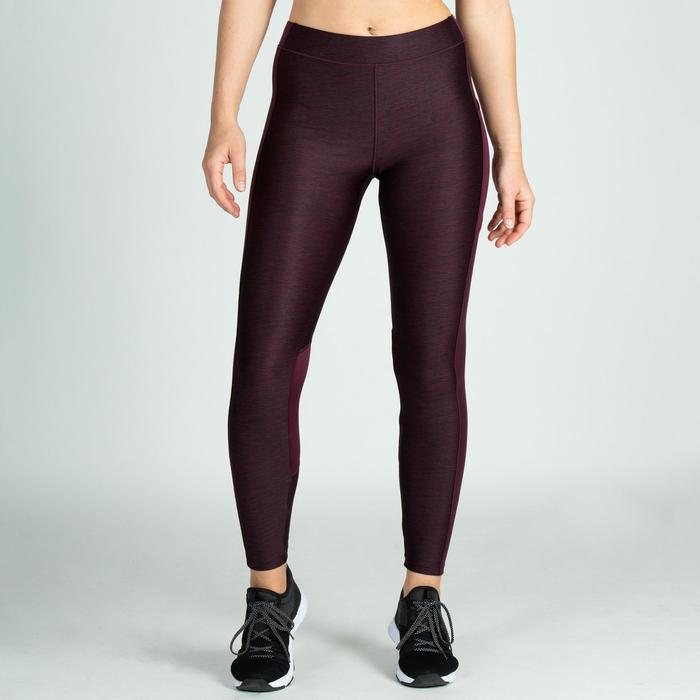 Leggings FTI 120 Fitness Cardio Damen bordeaux
