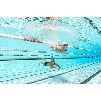 500 SELFIT泳鏡專框 S號 藍綠色