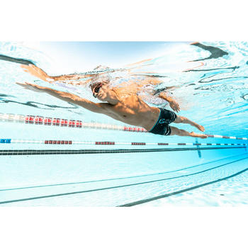 500 SELFIT深色泳鏡鏡片 L號 0度