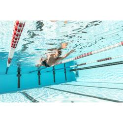 Glas op sterkte -2 voor zwembril Selfit 500 maat S getint