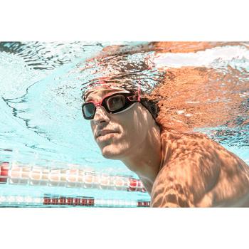 500 SELFIT深色泳鏡鏡片 L號 400度