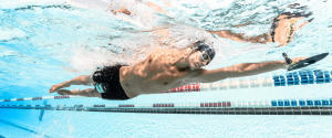burn calories with swimming
