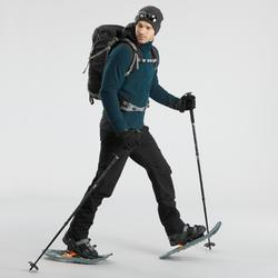 Wanderhose Winterwandern SH520 Extra-Warm Herren schwarz