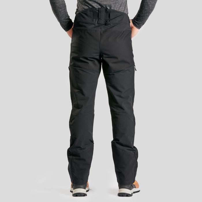 Pantalón de senderismo nieve hombre SH520 x-warm negro.