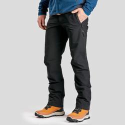 Men's warm hiking trousers SH520 x-warm - black.