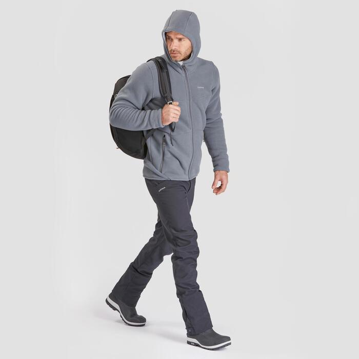 Veste polaire chaude de randonnée - SH100 U-WARM - Homme.