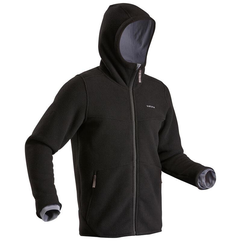 Casaco polar quente de caminhada - SH100 ULTRA-WARM - Homem