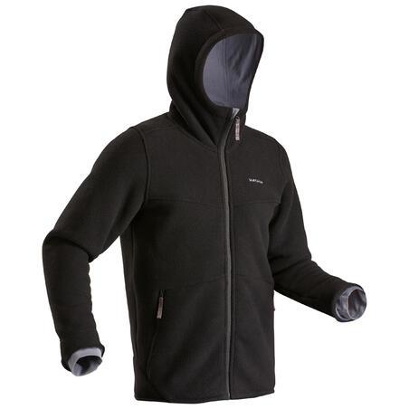 Manteau chaud de randonnée en laine polaireSH100 U-Warm – Hommes