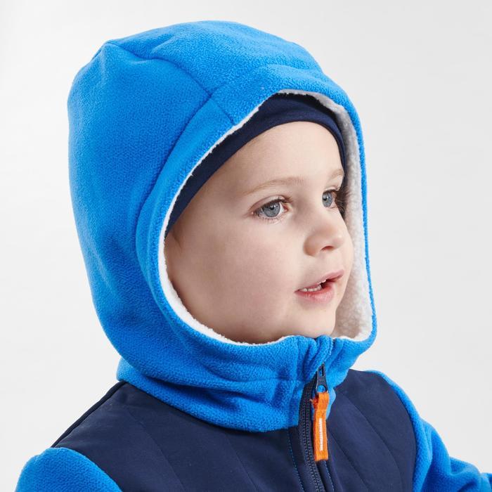 Fleece vest voor wandelen kinderen SH 500 blauw 2-6 jaar
