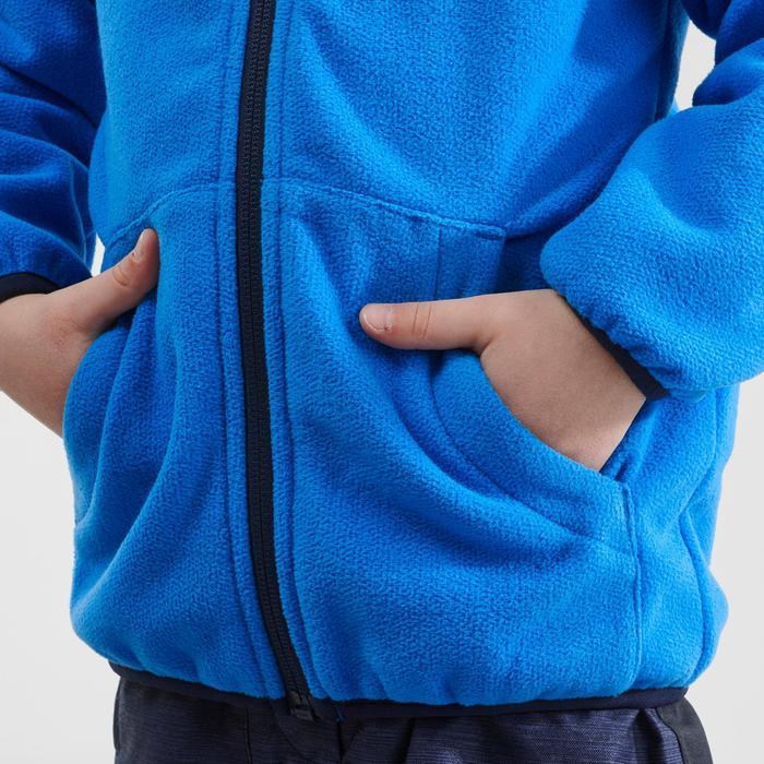Polaire de randonnée enfant SH 500 bleu 2-6 ans