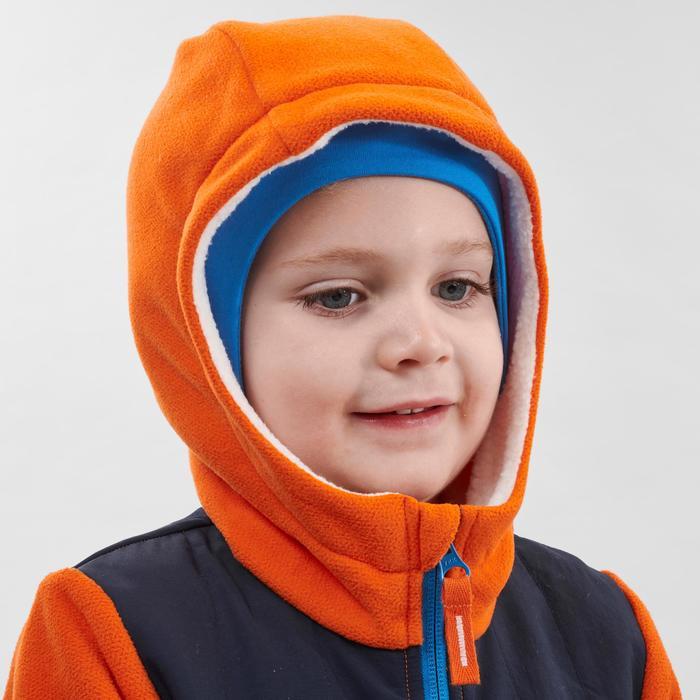 Children's hiking fleece SH 500 for age 2-6 - orange