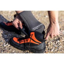 Sokken voor canyoning 3 mm grijs uniseks